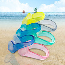 1 Pcs Unisex Nose Clip Soft Silicone Swimming Nose Clips Waterproof Nose Clip for Children Adults Pool Accessories Water Sports(China)