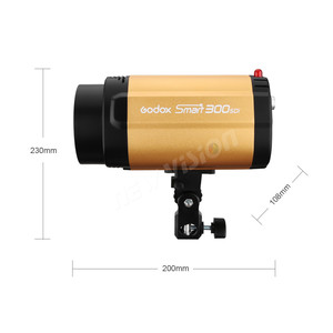 Image 2 - Godox 300 ワット 300SDI プロ写真スタジオ monolight ストロボ写真フラッシュスピードライト 300WS ライトサイズ: 300 ワット/s
