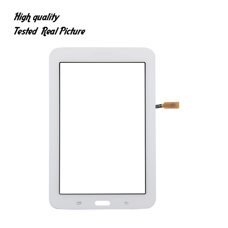 For Samsung Galaxy Tab 3 Lite SM-T113 T113 Touch Screen Glass Digitizer Panel Front Glass Lens Sensor Free Tools