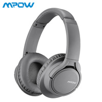 Mpow H7 18h Playing Time Over Ear Bluetooth Wireless/Wired Headphones With Microphone Soft Earmuffs 40mm Driver For PC TV Phones