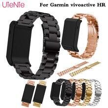 20mm band Stainless steel Wrist Strap for Garmin Vivoactive 3 Watch band Strap for Garmin Vivoactive3 HR Forerunner 645 bracelet цена в Москве и Питере