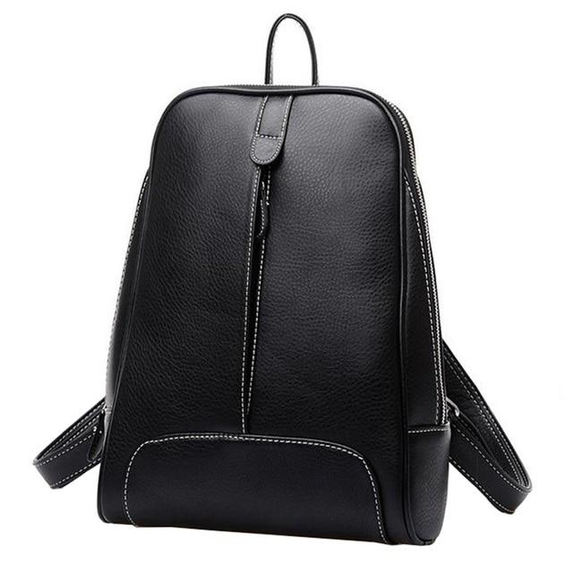 Aliexpress.com : Buy Mochila Feminina Women Leather Backpack ...