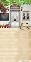 fond photo studio Newborn Vinyl Thin Fabric Backgrounds For Children 150cm*200cm Photography Backdrops Yellow Bicycle Background