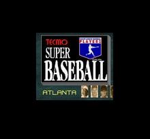 Tecmo Super Baseball 16 Bit Big Gray Game Card For NTSC USA Game Console