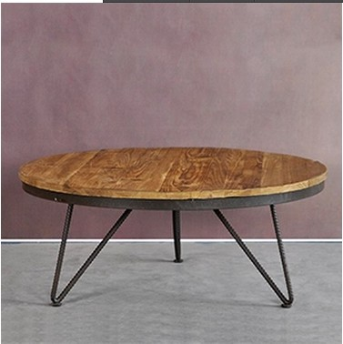 Export Of The Original Single Retro Vintage Industrial Style Coffee Table  Made Of Old Coffee Table
