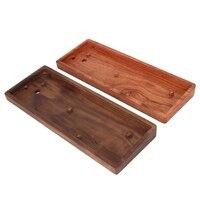 Solid Wooden 60 Keyboard Case Mini GH60 Wrist Rest Wood Case 60 Mechanical Keyboard Wooden Frame