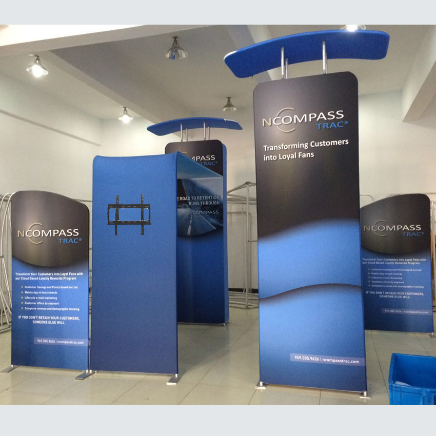 20ft Protable Trade Show Booth Kit Pop