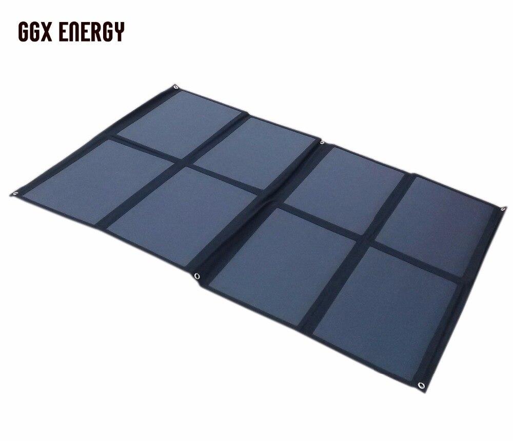 SUNPOWER Célula Solar Painel 160 W Dobrável Solar de Carregamento Solar Portátil Kit para Campista Caravana Barco 12 V Bateria ou 12 V Solares sistema