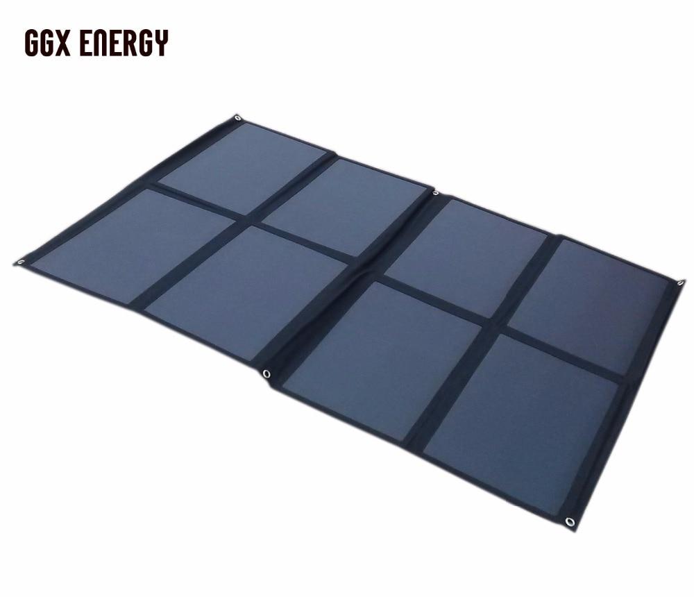 SUNPOWER Solar Cell Portable Solar Panel 160W Folding Solar Charging Kit for Camper Caravan Boat 12V Battery or 12V Solar System
