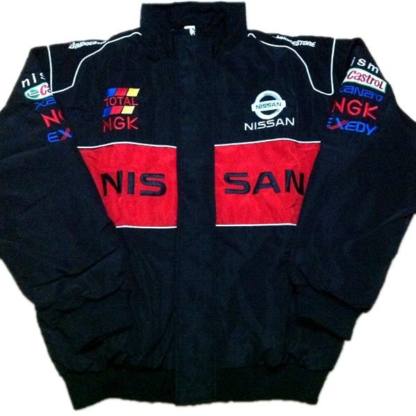 F1 automobile Lexus driver windproof Nissan brand jacket