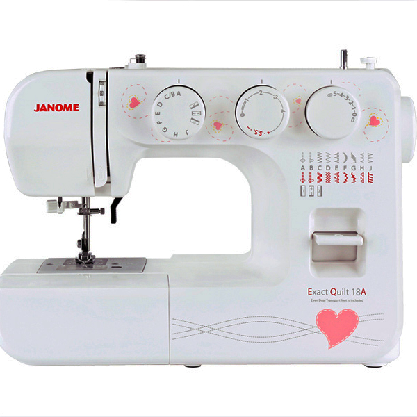 [Available from 10.11] Sewing Machines Janome Exact Quilt 18A (EQ 18A) 4933621706111