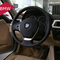 Car Steering Wheel Cover Stickers for BMW E60 E39 E87 E46 325i F30 118i 320li 1 3 5 Series Steering-Wheel Cover Car Accessories