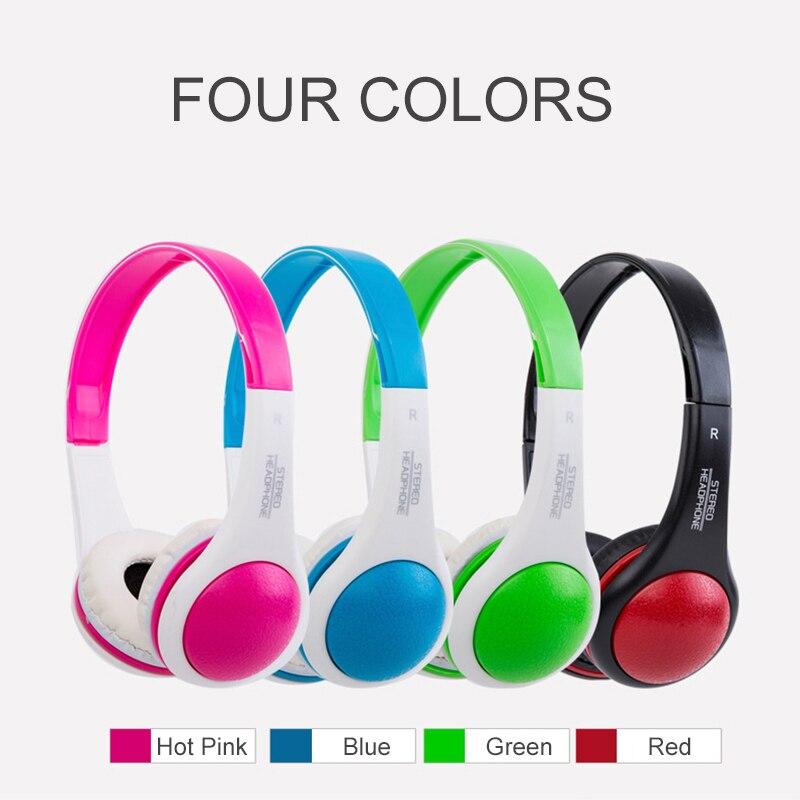 Essidi Wholesale Price Kids Children 3.5mm Jack Headphone MP3 Cellphone Noise Cancelling Headphone Earphone