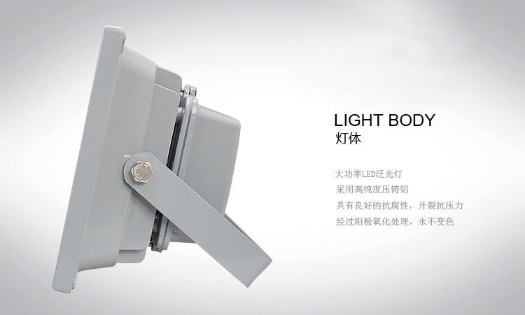 Flood Light 30W 50W LED Floodlights Outdoor Spotlights Spot Flood Lamp Garden Light Reflector Led Foco Exterior Projector