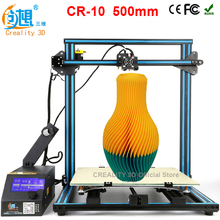 CREALITY 3D CR-10 Large Printing Size 400*400*400mm Metal 3D Printer DIY Kit With Aluminum Heated Bed+Borosilicate Glass Plate