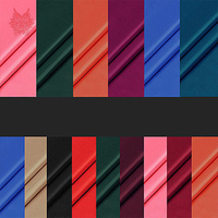 Free Shipping High Grade Multi Color100 Polyester Lining Fabric For Dress Coat Anti Static Lining Twill