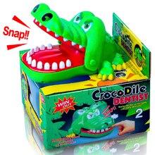 2019 Лидер продаж Новые творческие большой размеры крокодил Рот стоматолог кусает за палец игры Забавные приколы игрушка для детей играть весело