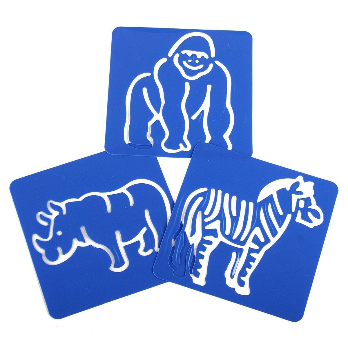 aliexpress com buy 12pcs animal shape zoo oppssed painting