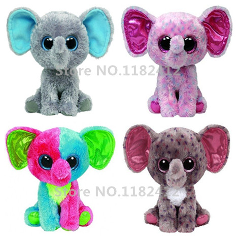 Ty Beanie Boos Peanut Specks Ellie Elfie Elephant Cute Plush Stuffed  Animals Big Eyes 15cm 6   Baby Kids Toys for Children Gifts-in Stuffed    Plush Animals ... 98d97a54889
