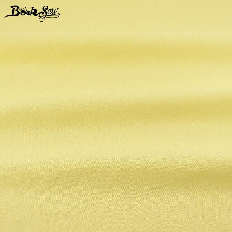 Noticias 100% Tela de Algodón de Color amarillo Pálido Diseños Tela de Sarga Tec