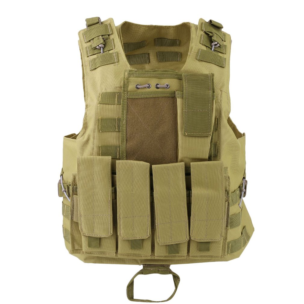 OUTAD Amphibious Tactical Military Hunting Combat Assault Plate Carrier Adjustable Vest Top Outdoor Jungle Equipment