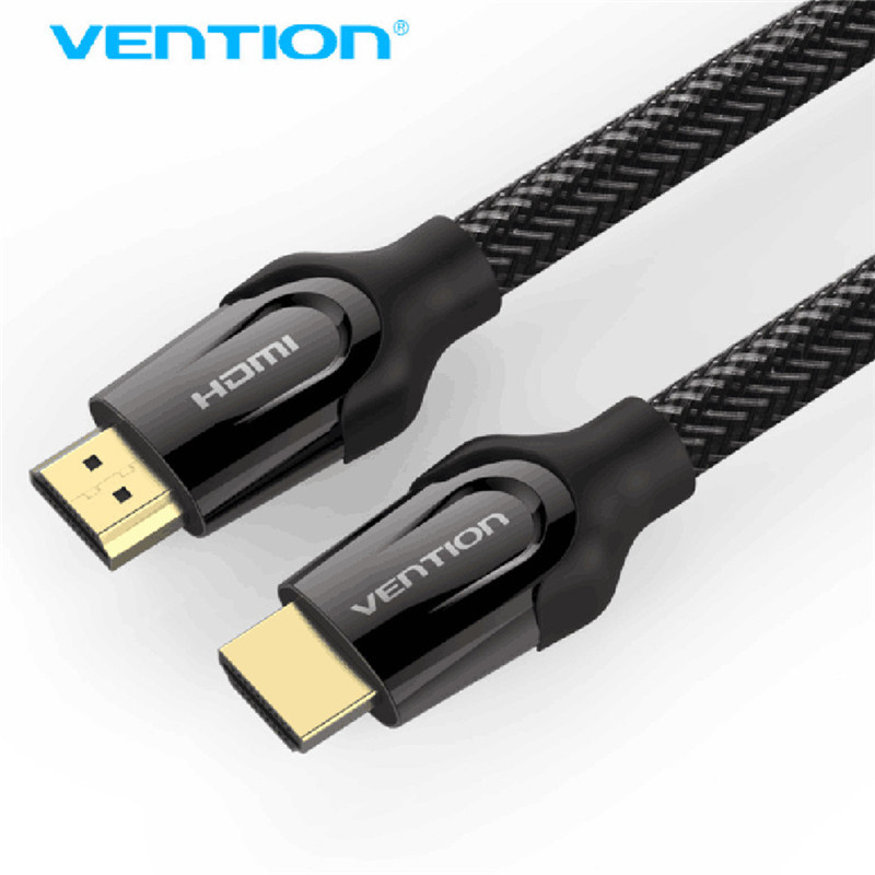 Vention HDMI Cable HDMI 2.0 4k 3D 60FPS Cable for HD TV LCD Laptop PS3 Projector Computer Cable 0.75m 1m 1.5m 2m 3m