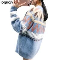 Rainbow Sweater 2018 Spring Autumn Blusa Inverno Feminina Pull Femme Hiver Pullover Women Warm Sweaters For Women IOQRCJV F53