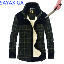 лучшая цена Men's cutfree shirt security protection stab-resistant Plaid shirt invisible Anti-cut anti stab blouse tops self defense shirts