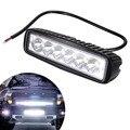 6 Polegada 18 W 1150LM 6 LEDs Trabalho Light Bar Ponto de Condução Luzes de nevoeiro off-road 4WD Carro para SUV Luzes de Nevoeiro