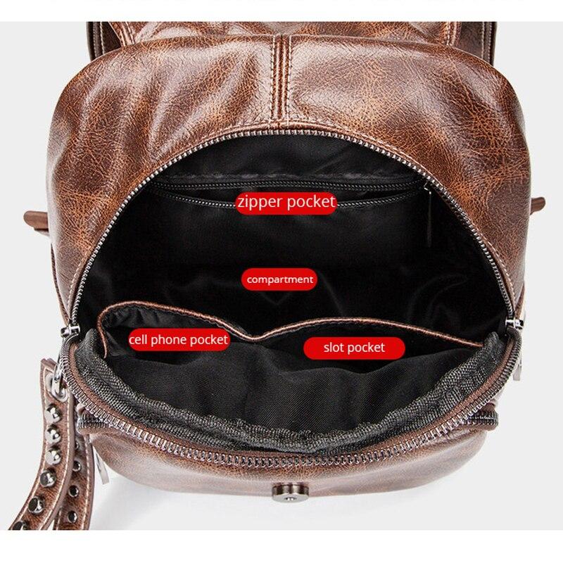 Pomelos Pour Cuir deep À Pu Sac D'écolier Multi En 2019 Nouveautés Sacs Vol Backpack Femmes Dos Brown fonctionnelle Anti Backpack Adolescentes Black r4rqxf