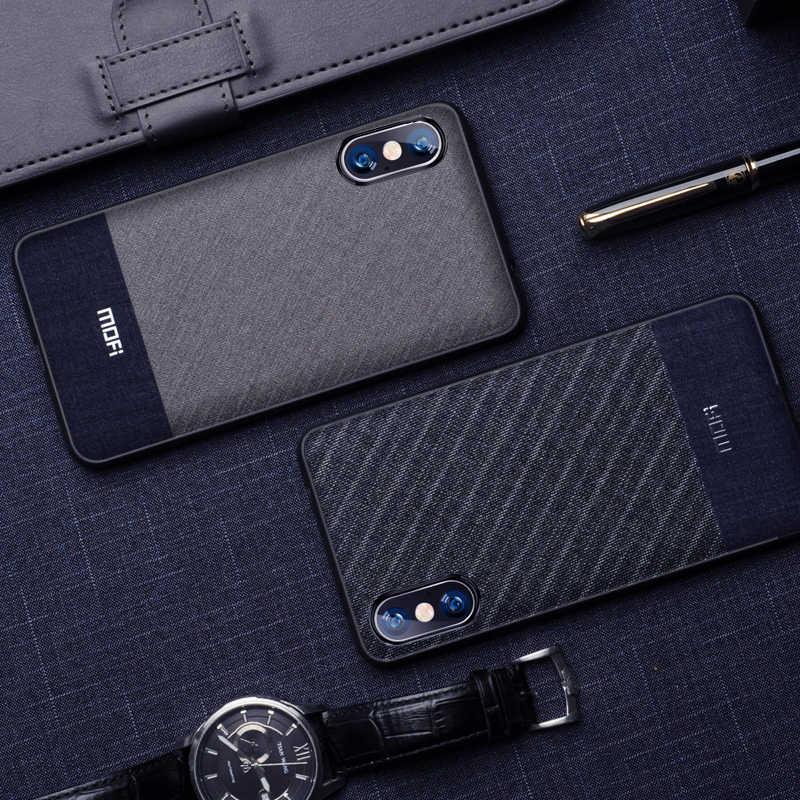 """Xs max caso capa para iphone xs max caso 6.5 """"para iphone xs caso mofi para iphone xr caso negócios cor escura para iphone x capa"""