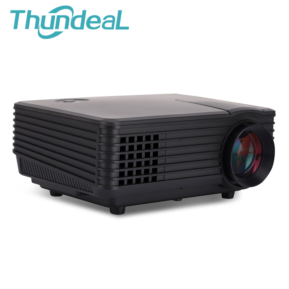 Thundeal rd 805w wifi andriod wifi 800lumens mini for Small projector wireless