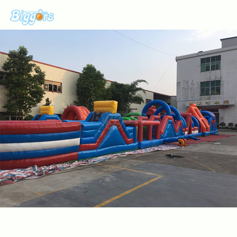 Inflatable obstacle course (7)