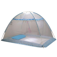 Newly Infant Mosquito Net Folding Mosquito Netting Baby Crib Tent Cradle Bed Canopy Mosquiteiros Infantis Blue