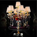Free shipping high-end european-style crystal candlestick, bedside lamp, household act the role of the preferred