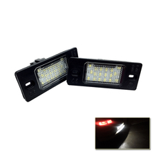 SMD светодио дный номерной знак свет лампы для Skoda Fabia MK1 6Y может-bus светодио дный лампочки белого светодио дный источник автомобиль