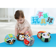 Baby Toys Bell Cloth Ball Early Education Developmental Soft Plush Toys Bed Rattles Baby Bed Toys Juguetes Bebes