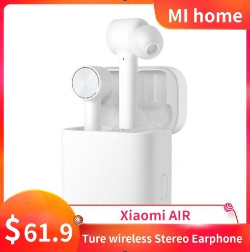 100 % Original Xiaomi Airdots Pro Bluetooth Eerphone Xiaomi Air TWS ENC Wireless Stereo Headset ANC Touch Control AAC HD Sound