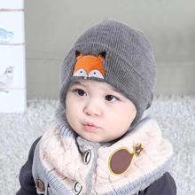 Sombrero del bebé gorro de bebé Baby18 moda bebé niños tapa Fox sombreros  de invierno cálido 26a5642b7c8