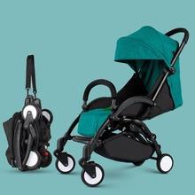 2018 Новый стиль baby2B1 коляска свет складной зонт автомобиля может сидеть может лежать ультра-легкий портативный на самолете