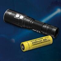 NITECORE DL10 Diving Light 1000 Lumen CREE XP L HI V3 LED Flashlight 18650 Rechargeable Battery