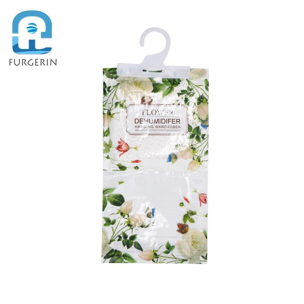 FURGERIN 1PC Dehumidifier Bag Hanging Moisture Absorber Closet Dehumidifier Wardrobe Household Gadgets