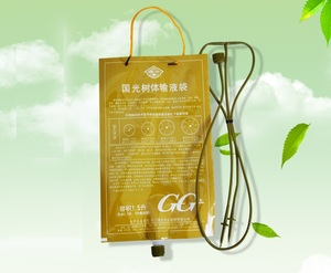 Image 1 - 3Pcs/set 1500ml Home Flower Plant Drip Irrigation System Infusion Bag Tree Infusion Kits Micro Irrigation Garden Supply