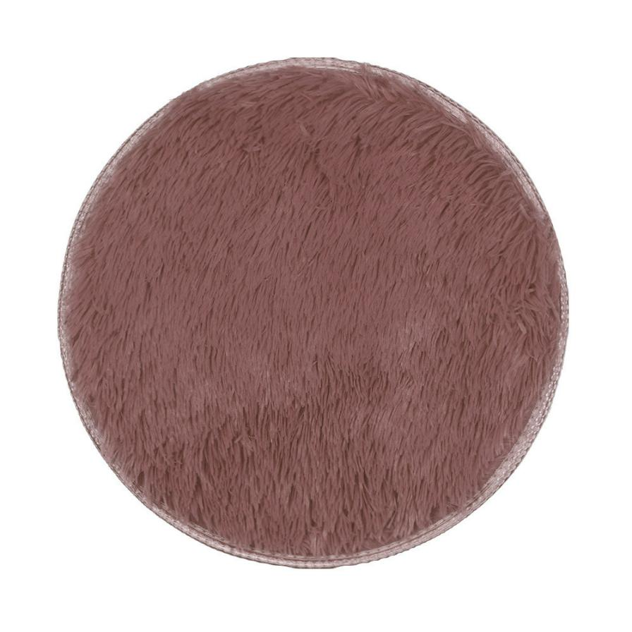 My House 40*40CM Thickened Circular Carpet Mats Dining Room Bedroom Carpet Kitchen Bathroom Home Decor 2017 New Hot Sell 17SEP18
