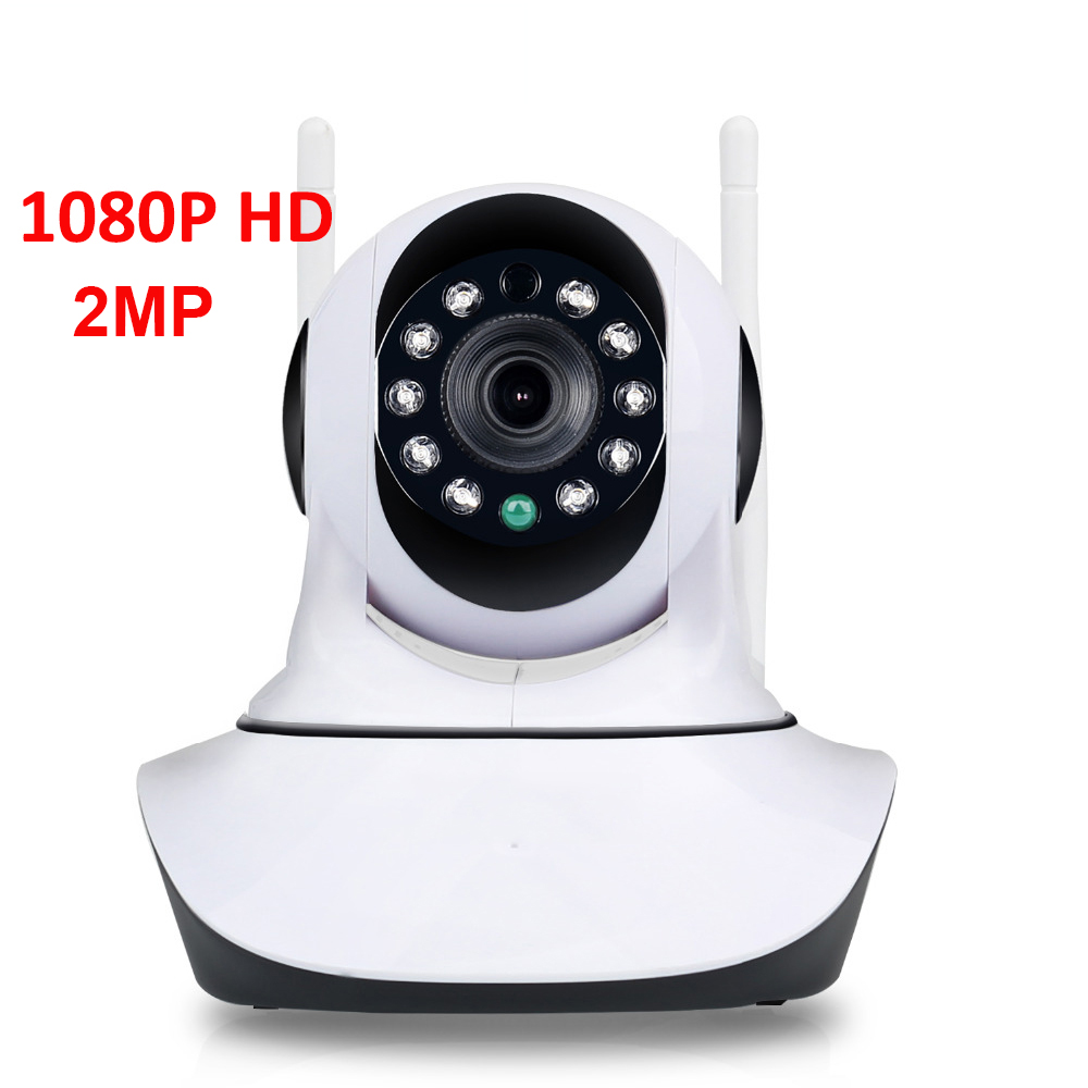 HD 1080P 2MP Home Security IP Camera Wireless Samrt Mini Video Camara Nanny CCTV Wifi Night Vision IR Baby Monitor Audio Record howell wireless security hd 960p wifi ip camera p2p pan tilt motion detection video baby monitor 2 way audio and ir night vision