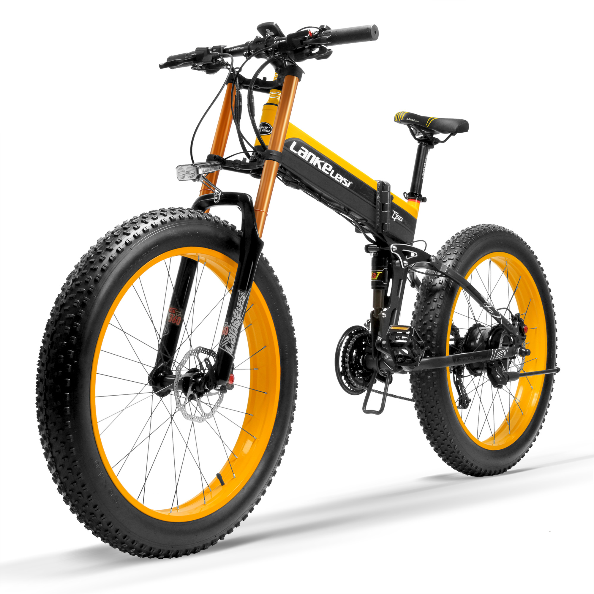 T750Plus Novo 27 Velocidade Ebike Bicicleta Gordura, 1000W 48V 14.5Ah Forte Poder, 5-Pedal Assist Sensor de nível, Downhill Garfo de Moto De Neve