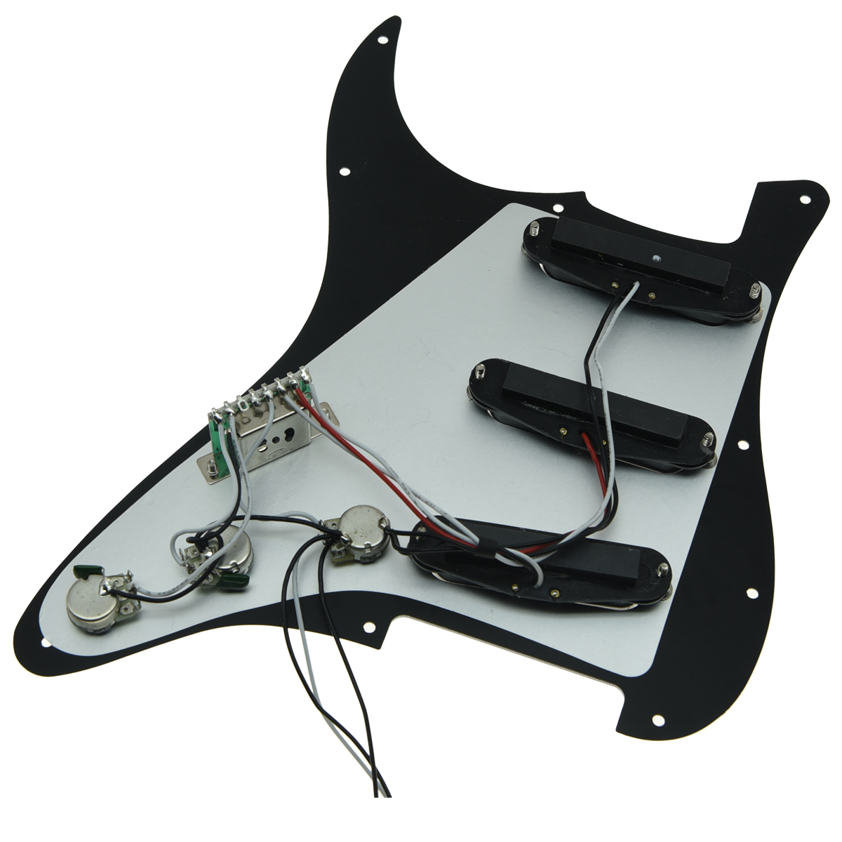 KAISH Various Loaded Strat SSS Pickguard Prewired ST Strat Pickguard with Pickups Fits for Fender in Guitar Parts Accessories from Sports Entertainment