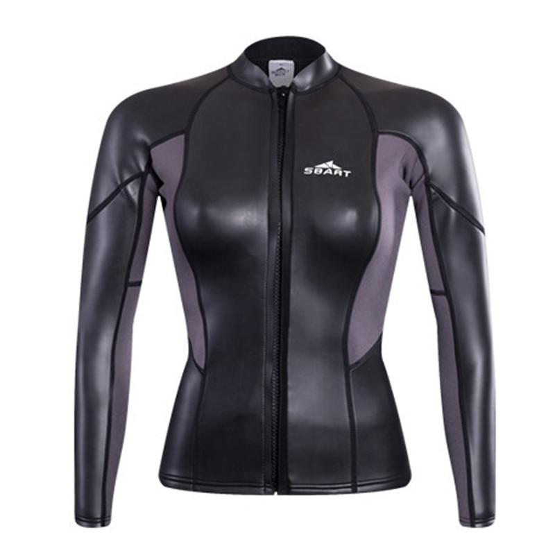 Sbart Ms. 2mm  neoprene zipper long sleeve diving suit, diving, surfing, preventing jellyfish sbart upf50 rashguard 808