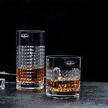 Алмазные стили, рюмка из прозрачного стекла, Классический богемский дизайн, чашка для виски, вина, водки, бара, клуба, пива, бокала для вина