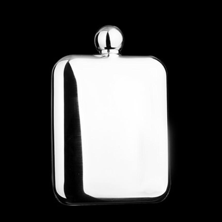 Flacons de hanche en acier inoxydable flacons de hanche portables en métal Flagon Mini bouteilles d'alcool Heupfles entonnoirs Garrafa Anca cruches de vin 50M0053